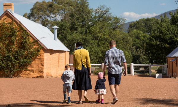 Harvest Day Out: Tour: Lanyon Historic Precinct Walk