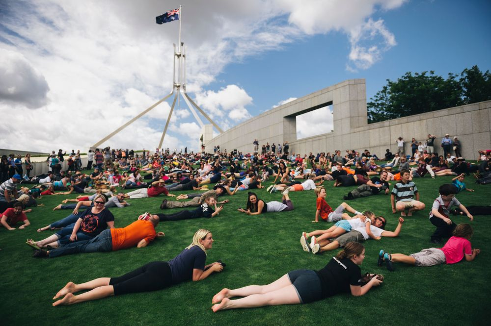 Floor talk: Lawn with Paul Janssens from the Parliament House