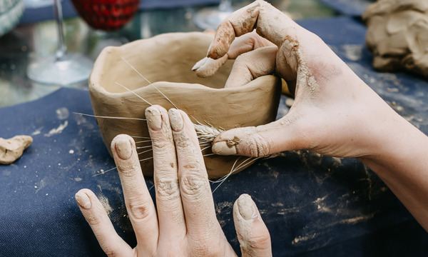 Sunday Wellbeing Workshop:  Make a Pinch Pot Tea Bowl