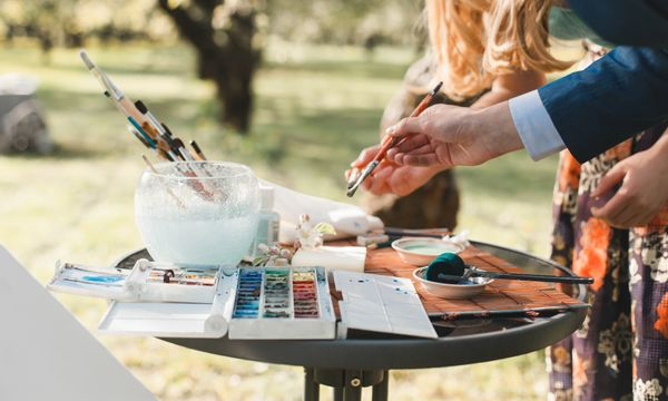 Workshop: Art Makers at Lanyon- Still life, Watercolor and Gouache