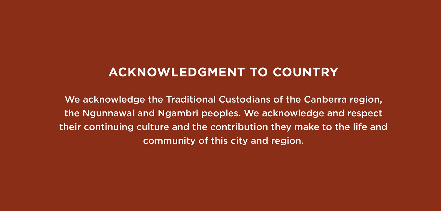 Acknowledgement to Country