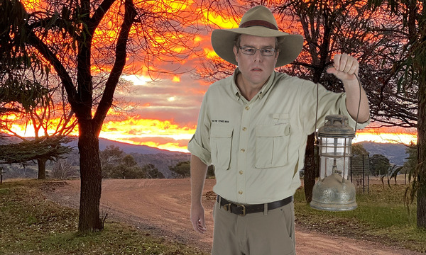 Twilight Tour   Legends of Lanyon with Tim the Yowie Man